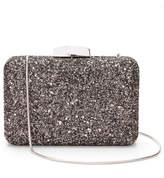 Express glitter box clutch