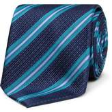 David Jones Spot Stripe Tie