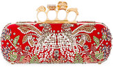 Alexander McQueen Knuckle box clutch - women - Silk/Viscose - One Size