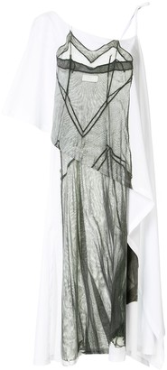MM6 MAISON MARGIELA Asymmetric Printed Dress