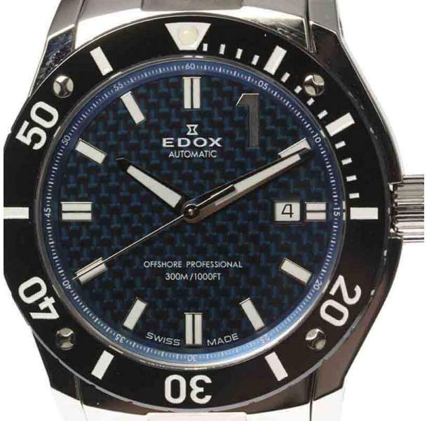 Edox Chronooffshore-1 80088 Stainless Steel Automatic 45mm Mens Watch
