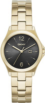 DKNY NY2366 Parsons gold-plated watch