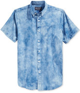 American Rag Men's Tie-Dye Denim Shirt, Only at Macy's