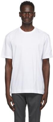 Ermenegildo Zegna White Cotton Jersey Oversized T-Shirt