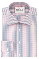 Thomas Pink Corson Check Classic Fit Button Cuff Shirt