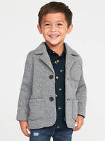 Old Navy Sweater-Knit Fleece Blazer for Toddler Boys