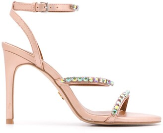 Kurt Geiger Portia jewel embellished sandals