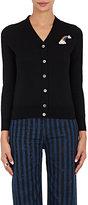 Marc Jacobs Women's Rainbow-Patch Merino Wool Cardigan