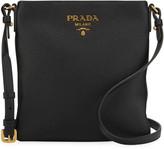 Prada Daino Crossbody Bag w/ Removable Leather Strap