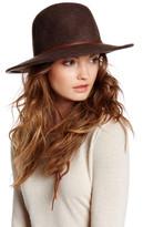San Diego Hat Company Genuine Leather & Wool Hat