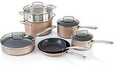 KitchenAid Toffee Delight Hard Anodized Nonstick 11-Piece Cookware Set