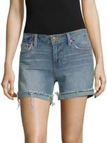 Joe's Jeans Raw-Edge Denim Shorts