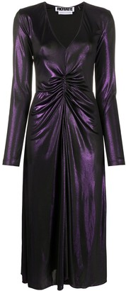 Rotate by Birger Christensen Number 7 fitted dress
