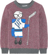 Little Marc Jacobs Mr Marc sweater