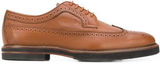 Tod's Lace-Up Leather Brogues