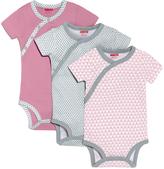 Skip Hop Pink Geometric Crewneck Bodysuit Set