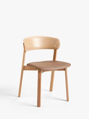 John Lewis & Partners Contour Dining Chair, Oak
