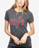 Lucky Brand Cotton Beaded Kiss-Graphic T-Shirt