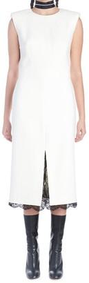 Alexander McQueen Lace Detail Shift Dress