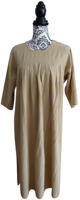 Cacharel Beige Linen Dresses