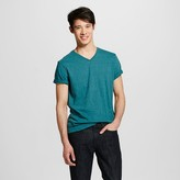 Men's V-Neck T-Shirt Teal - Mossimo Supply Co.