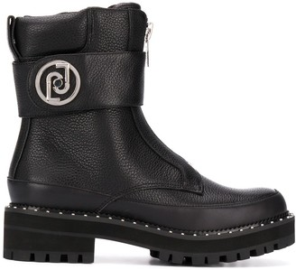 Liu Jo Zip-Up Combat Boots