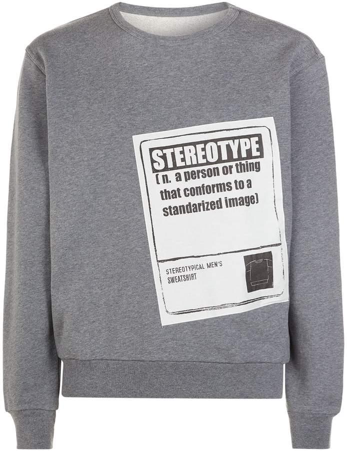 Maison Margiela Stereotype Patch Sweatshirt