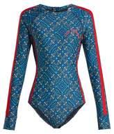 The Upside Casa Azul performance paddle suit