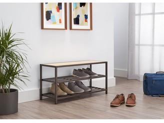 Trinity 3-Tier | 36x13x18 | Shoe Bench | Bronze Anthracite?