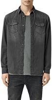 AllSaints Marilla Denim Shirt, Black