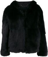 Givenchy oversized shearling coat