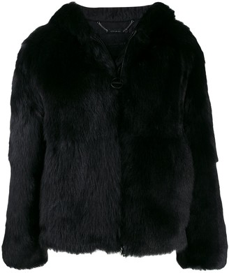 Givenchy Oversized Shearling Coat
