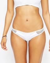 Asos FULLER BUST Exclusive Fishnet Insert Bikini Bottom