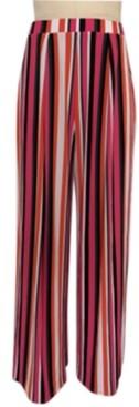 Bar III Striped Wide-Leg Pants, Created for Macy's