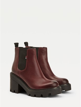 Tommy Hilfiger Lugged Ankle Boot