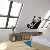 STUDY Vinyl Revolution Banksy Rat Photographer Wall Art Decal