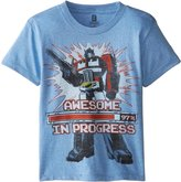 Power Rangers Transformers Little Boys' Optimus Prime T-Shirt Shirt