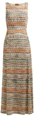 Missoni Zigzag Knit Maxi Dress - Womens - Multi Stripe