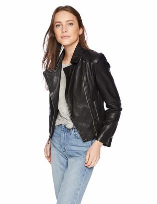 BB Dakota Women's Wild On Leather Jacket