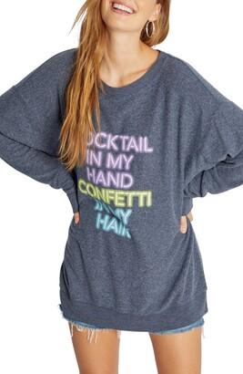 Wildfox Couture Tunic Sweatshirt