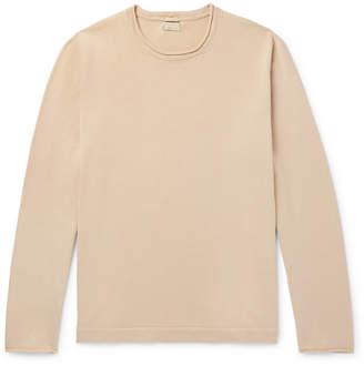 Massimo Alba Jake Cotton And Cashmere-Blend Mock-Neck Sweater