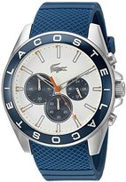 Lacoste Men's 2010854 Westport Analog Display Japanese Quartz Blue Watch