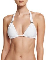 Vix Bia Solid Swim Top, White (Available in Extended Cup Size)