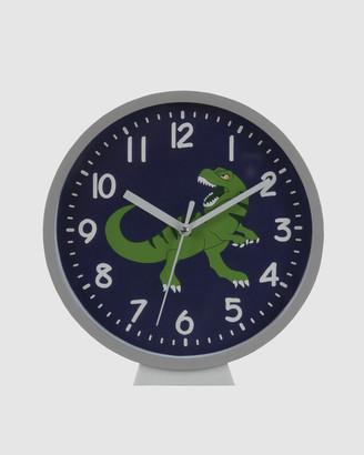 Bobbleart Wall Clock Dinosaur
