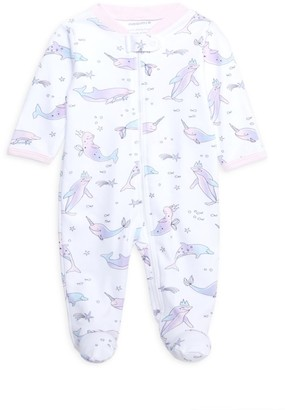 Baby Noomie Baby's Narwhal Pima Cotton Footie
