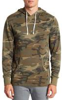 Alternative Camo Print School Yard Hoodie