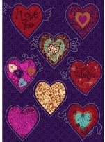 Freestyle 19 in. x 27 in. Valentine Wall Decal