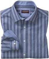 Johnston & Murphy Textured Variegated Stripe Shirt