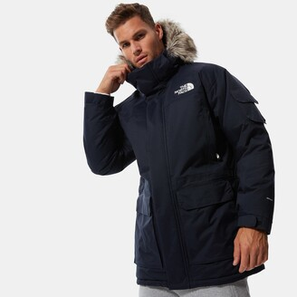 The North Face Recycled Mc Murdo Parka with Faux Fur Hood and Down Padding
