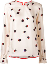 Paul Smith spotted top - women - Silk - 38